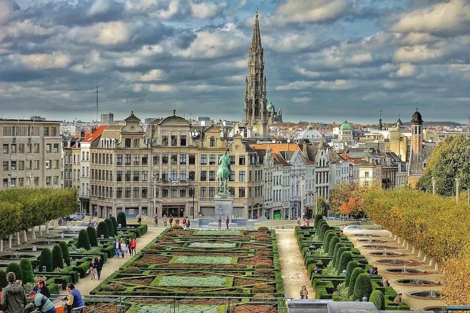 Гора искусств, Брюссель