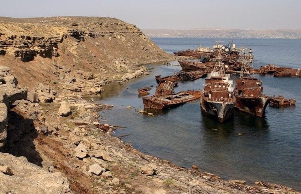 Остров Бёюк-Зиря, Азербайджан