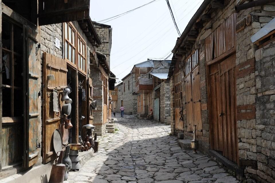 Лагич, Азербайджан