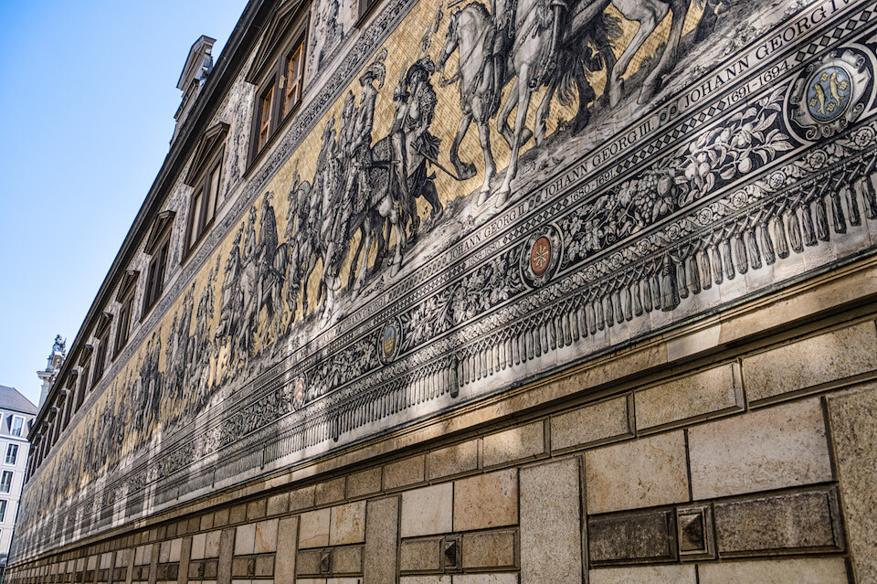 Панно «Шествие князей», Дрезден