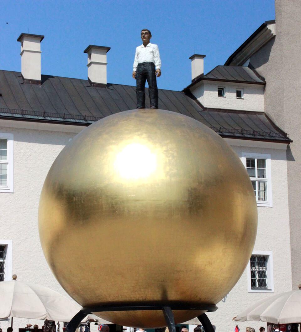 Памятник Паулю Фюрсту, Зальцбург