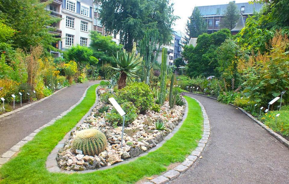 Ботанический сад, Антверпен