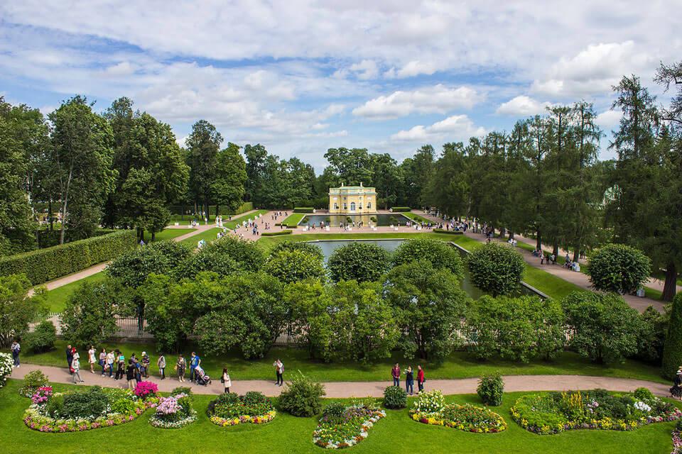Екатерининский парк: экскурсия для школьников, Санкт-Петербург