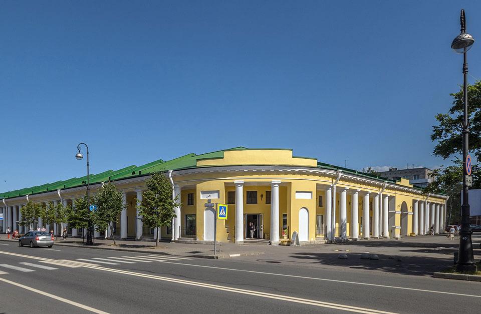 Гостиный двор, Кронштадт