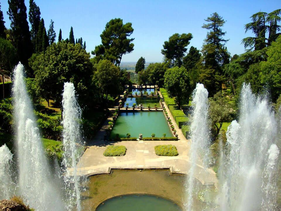 фонтан тиволи в риме фото увидеть