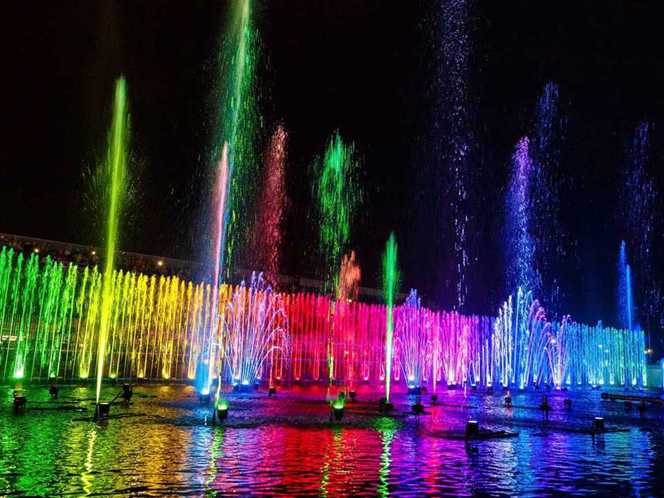 Поющие фонтаны, Сочи
