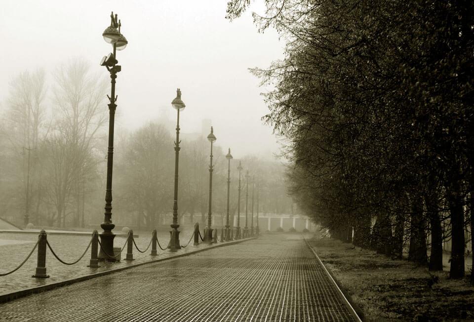 Чугунная мостовая, Кронштадт