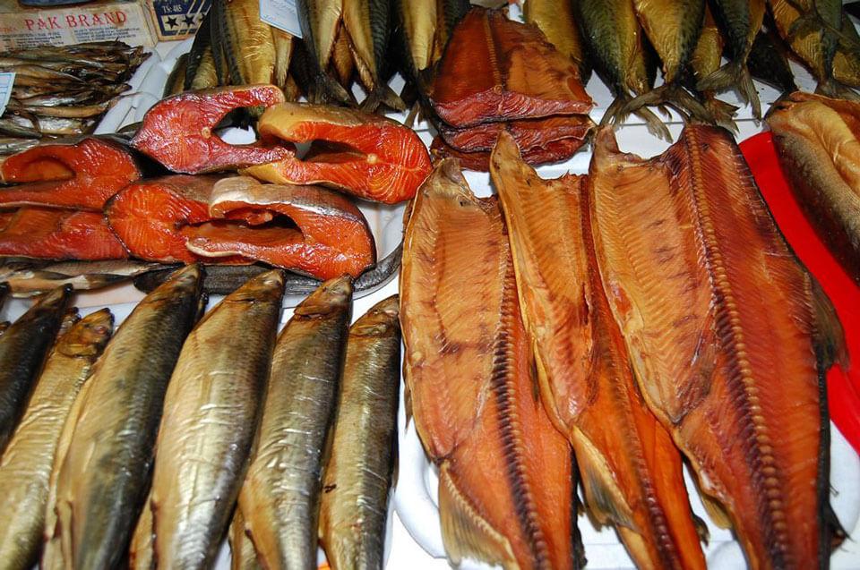Копченая рыба, Сочи