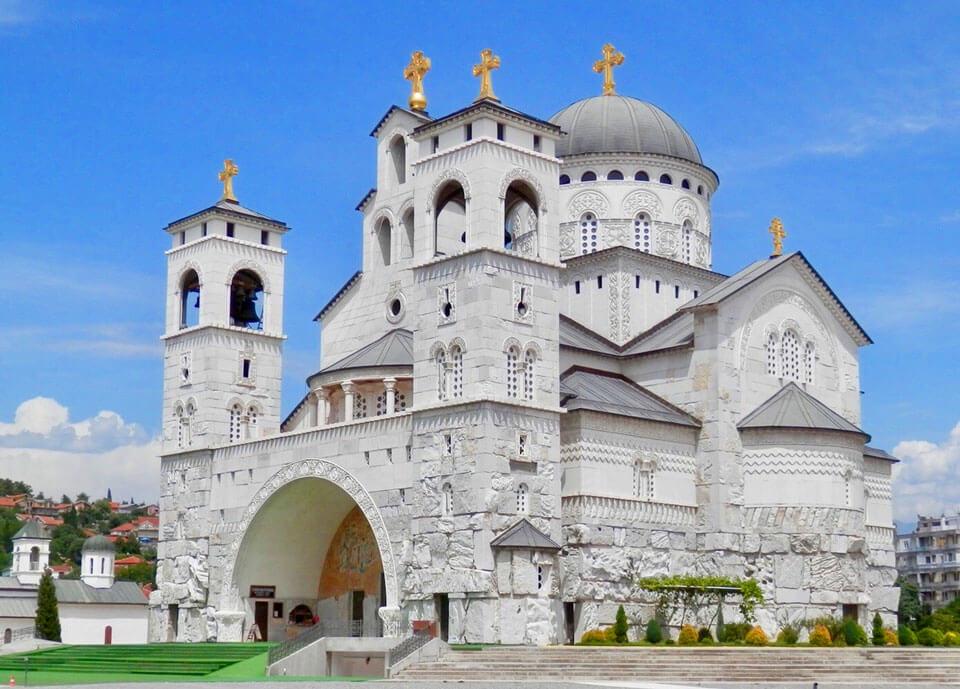 Храм Воскресения Христова в Подгорице, Черногория