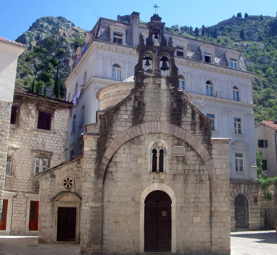Церковь Святого Луки в Которе, Черногория