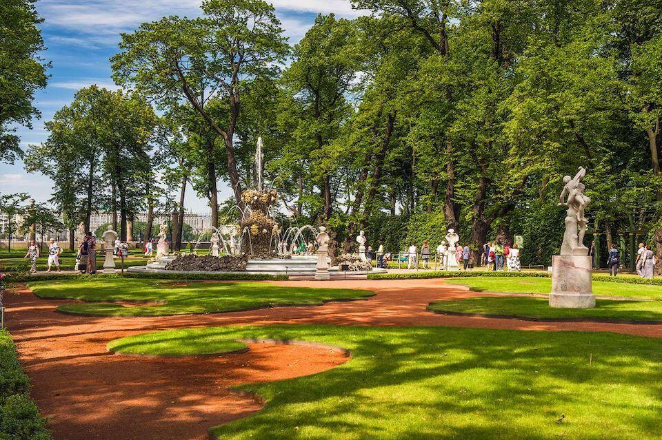 Экскурсия-квест для детей по Летнему саду, Санкт-Петербург