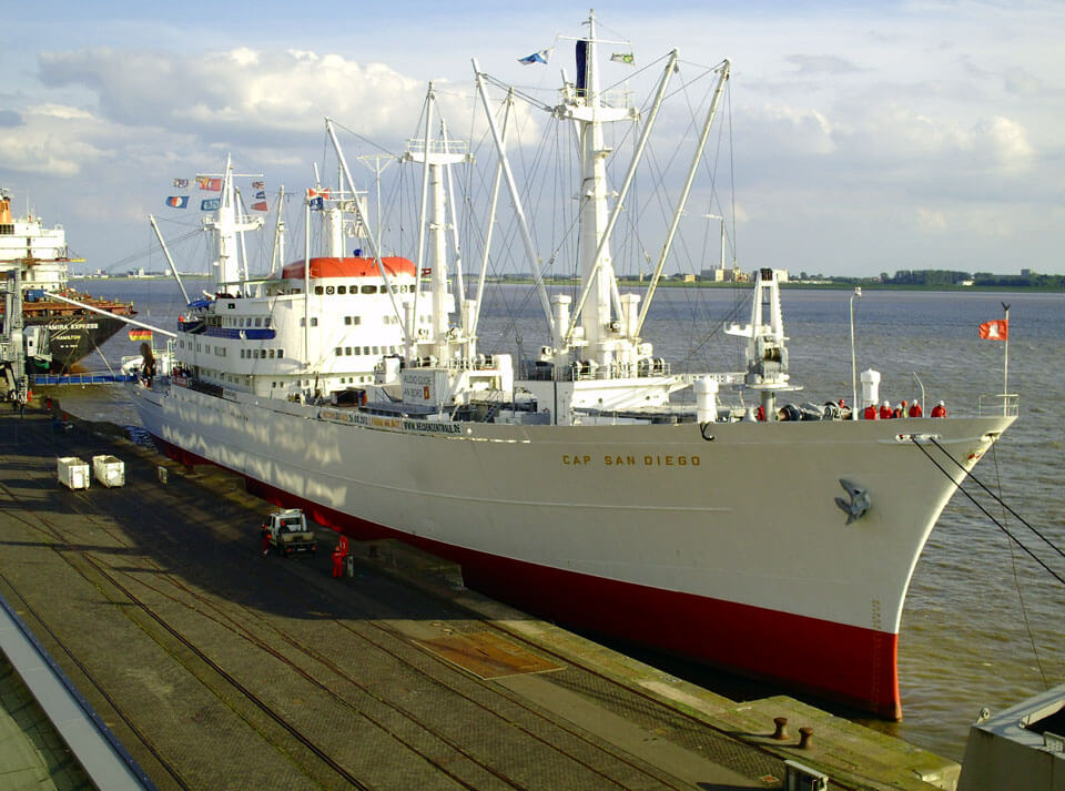 Корабль-музей «Кэп Сан-Диего»