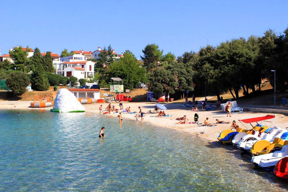 Песчана Увала, Хорватия