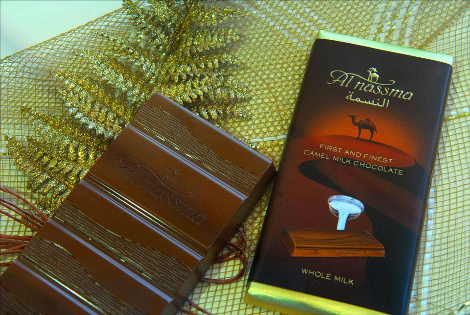 Продукты из верблюжьего молока, ОАЭ