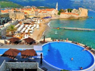 Отели Черногории 5 звезд со своим пляжем
