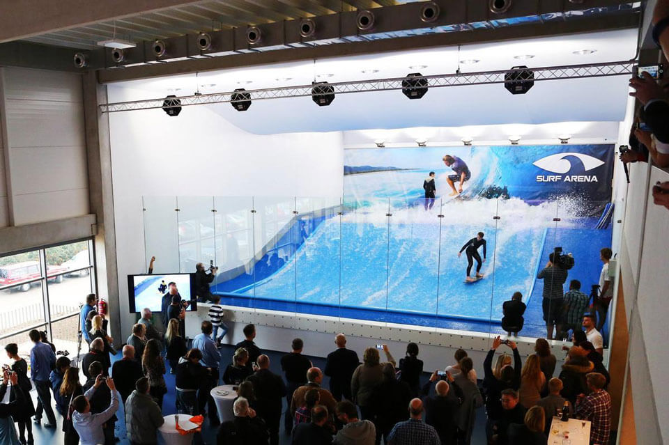 Комплекс Surf Arena, Прага