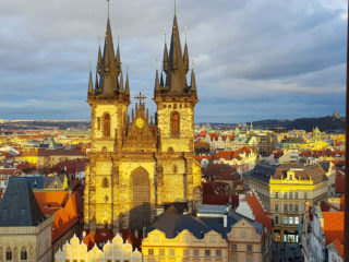 13 лучших смотровых площадок Праги