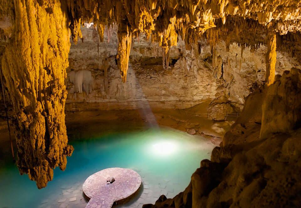 Экскурсия к озерам и пещерам в Юкатане, Канкун