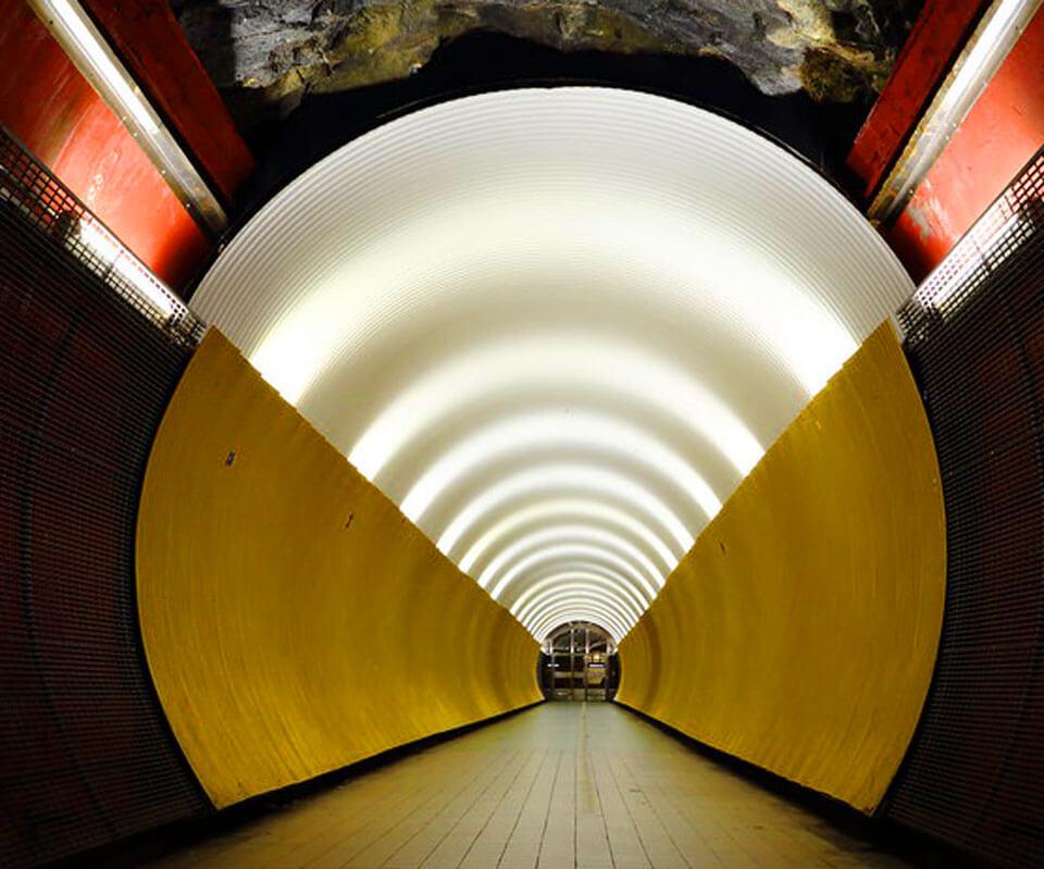 Брункеберг туннель, Стокгольм