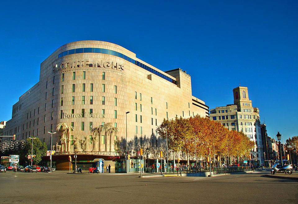 Универмаг El Corte Inqies, Барселона