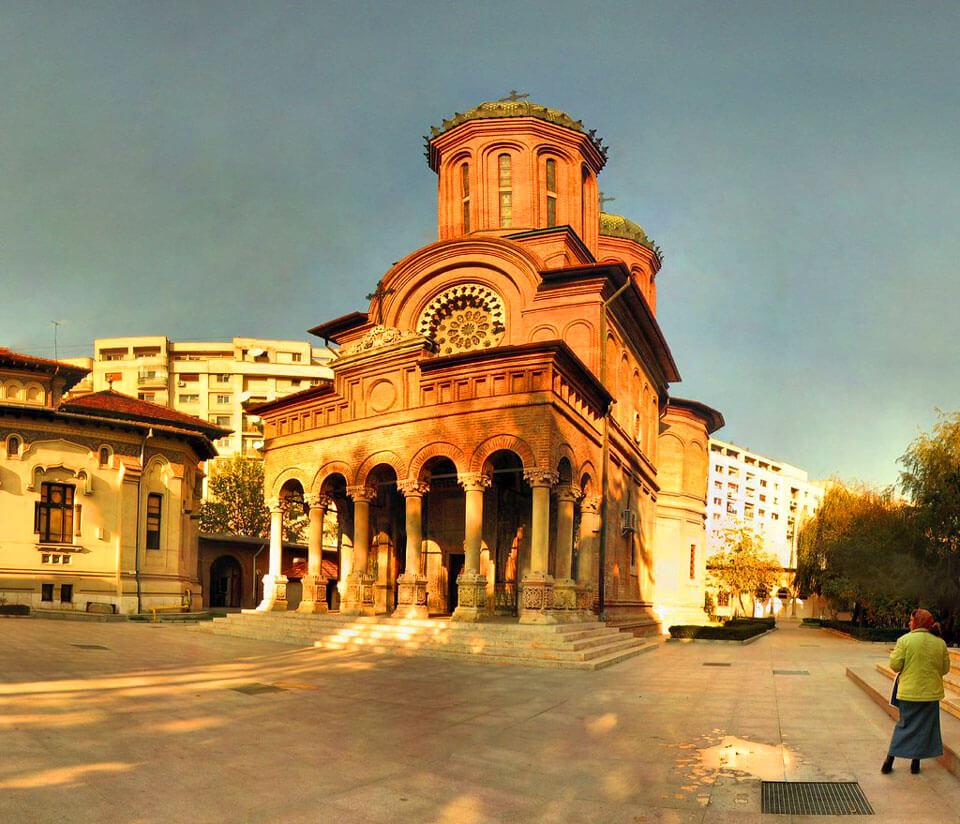 Монастырь Антим, Бухарест