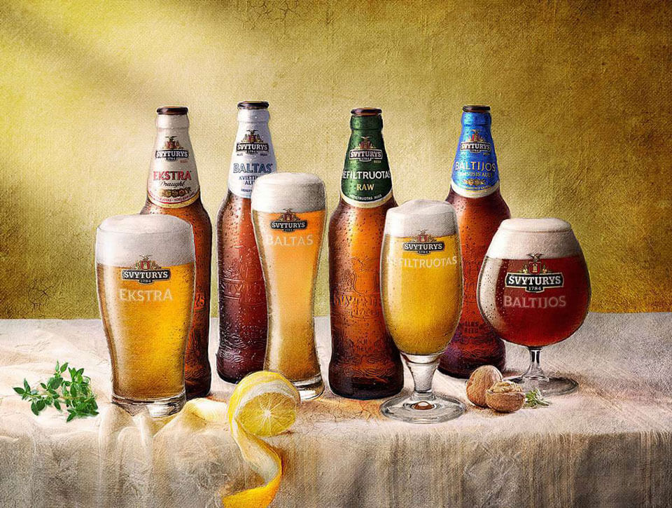 Пиво, Литва