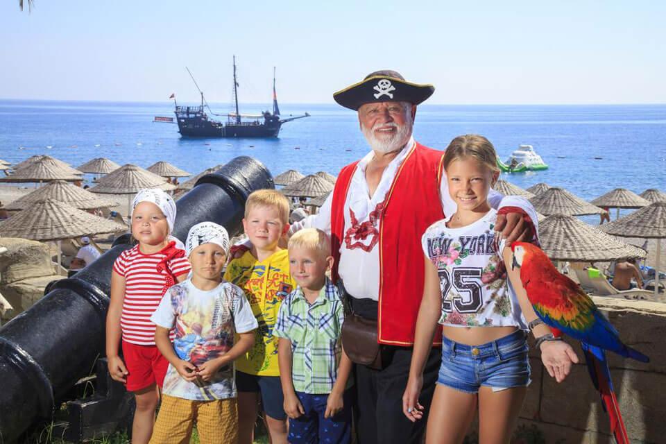 Pirate's Beach Club 5*, Турция
