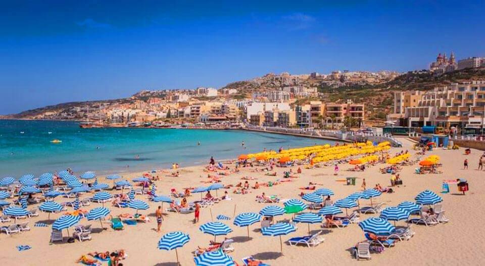 Меллиха Бей, Мальта