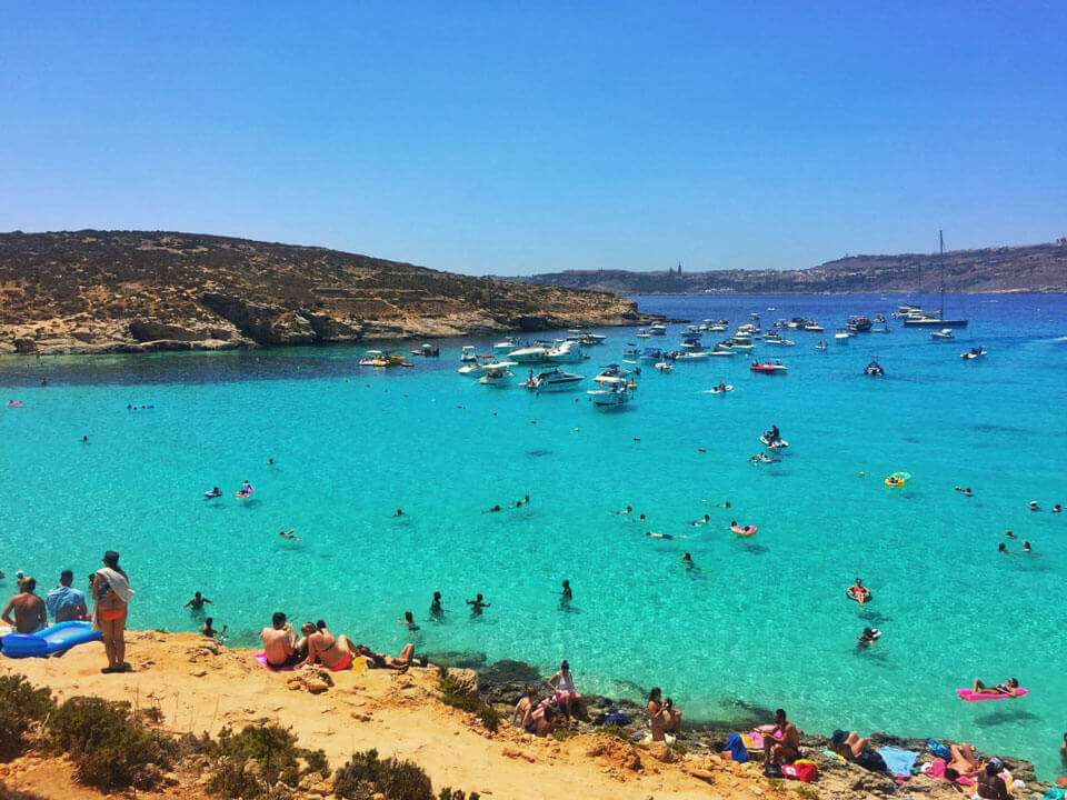 Голубая лагуна, Мальта