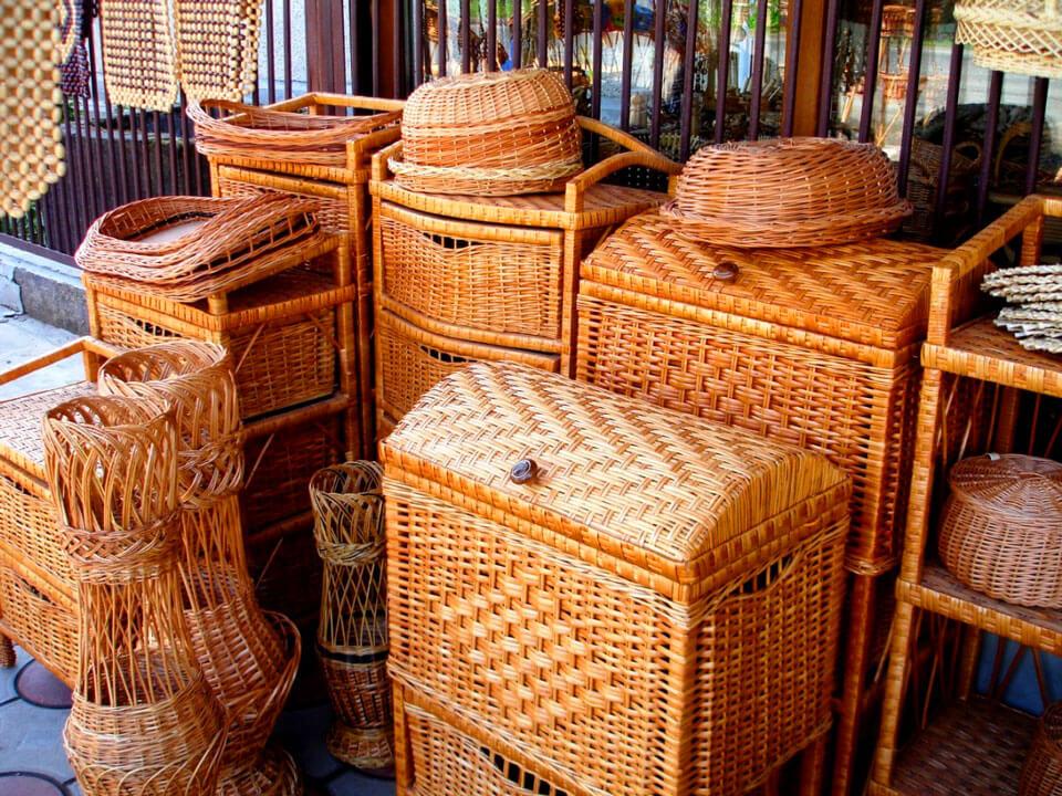 Плетёные изделия из лозы, Рязань