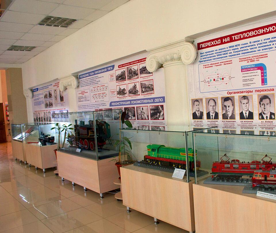 Музея истории и развития Горьковской железной дороги, Нижний Новгород