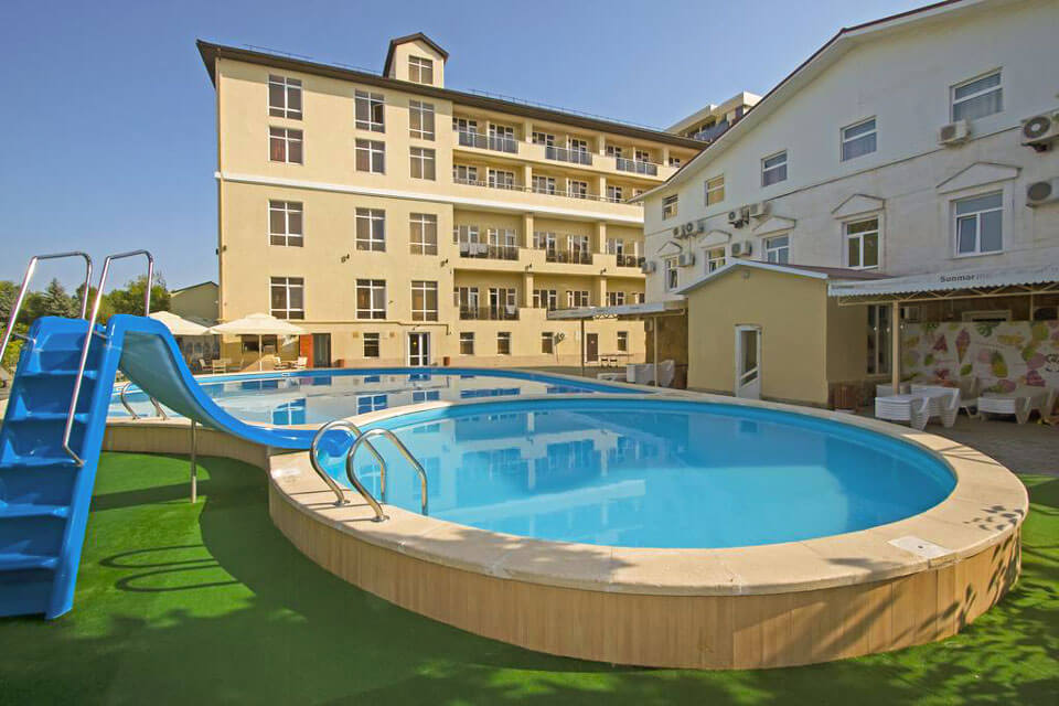 Sunmarinn Resort All Inclusive 4*, Анапа