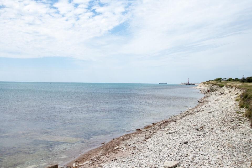 Пляж базы отдыха «Взлёт», Геленджик