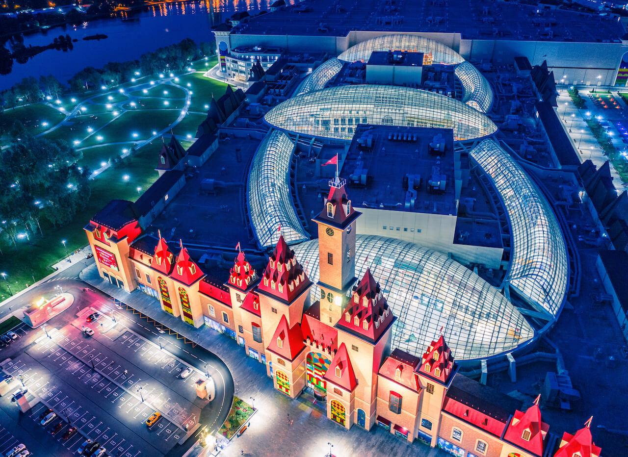 Остров мечты, Москва
