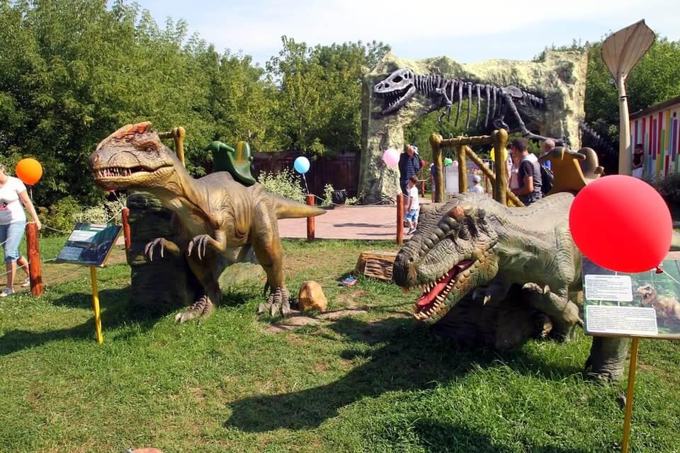 Парк динозавров, Москва