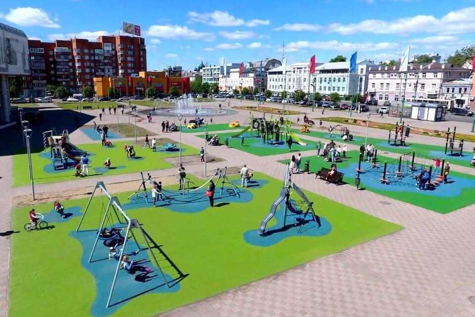 Площадь Юности, Ярославль