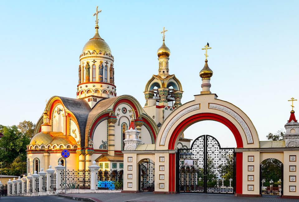 Кафедральный собор Владимира Равноапостольного на Виноградной горе