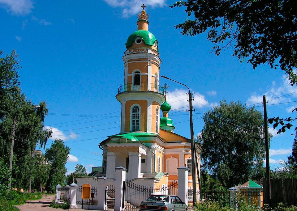 Церковь Алексия, человека Божия, Кострома