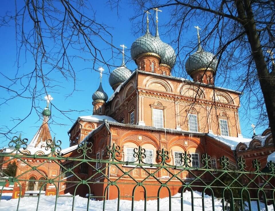 Церковь Иконы Божьей Матери Знамение, Кострома