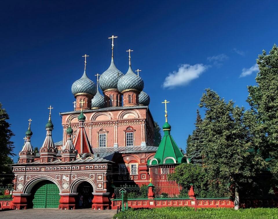 Церковь Воскресения Христова на Дебре, Кострома