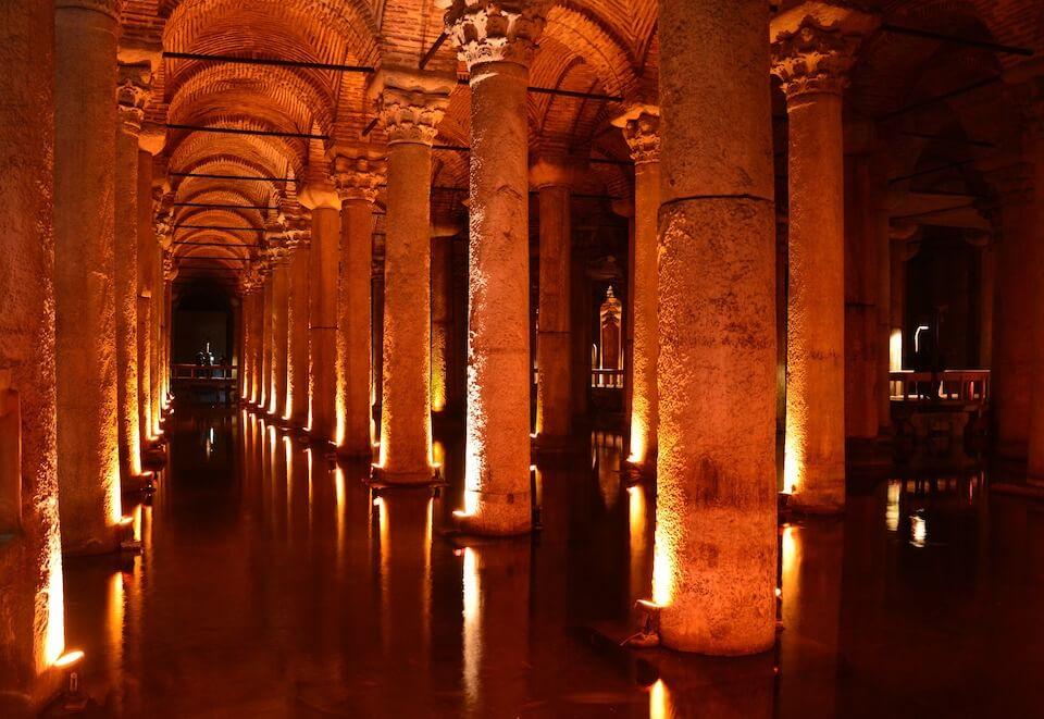 Цистерна Базилика, Стамбул