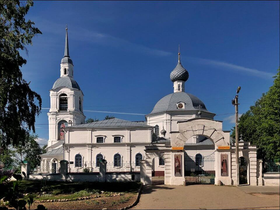 Храм во имя святых мучеников Александра и Антонины в Селище, Кострома