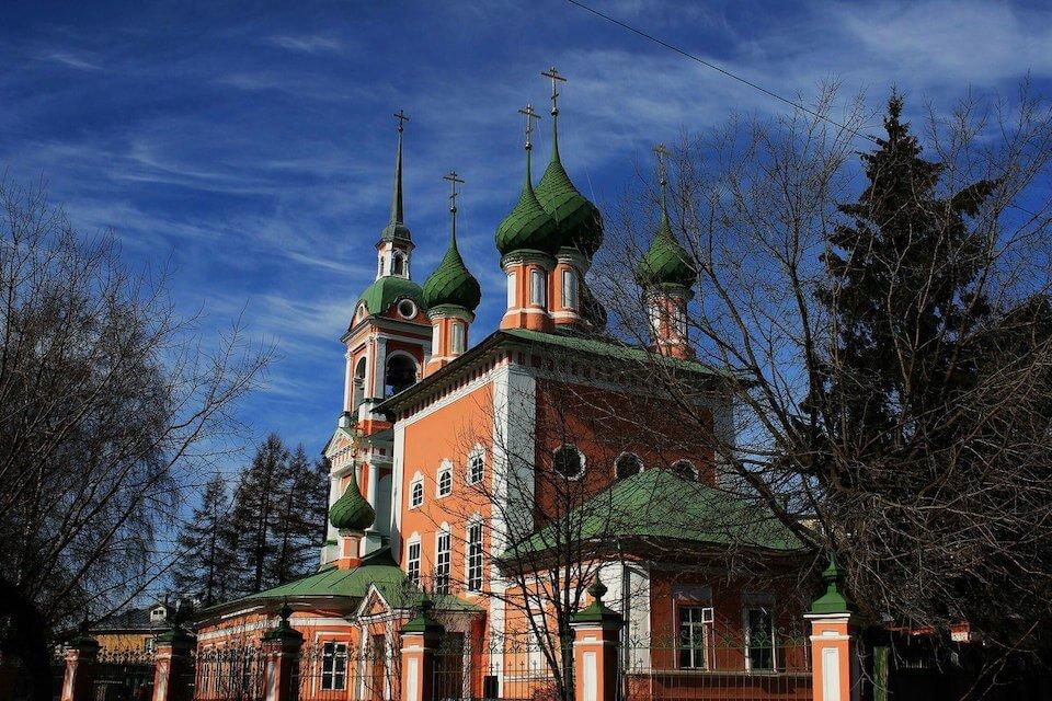Иоанно-Златоустовская церковь, Кострома