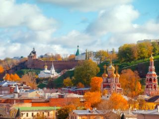 Нижний Новгород в октябре