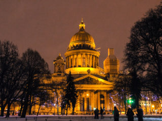 Санкт-Петербург в ноябре