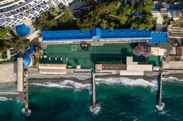 Отели Крыма 3 звезды первая линия