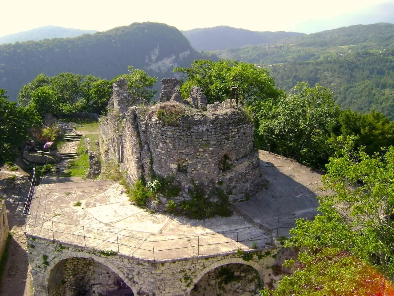Анакопийская крепость, Абхазия