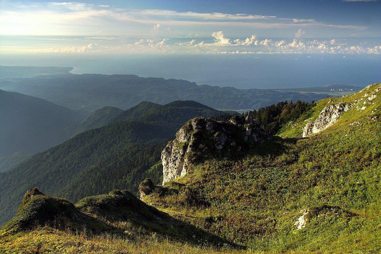 Гора Мамдзышха, Абхазия