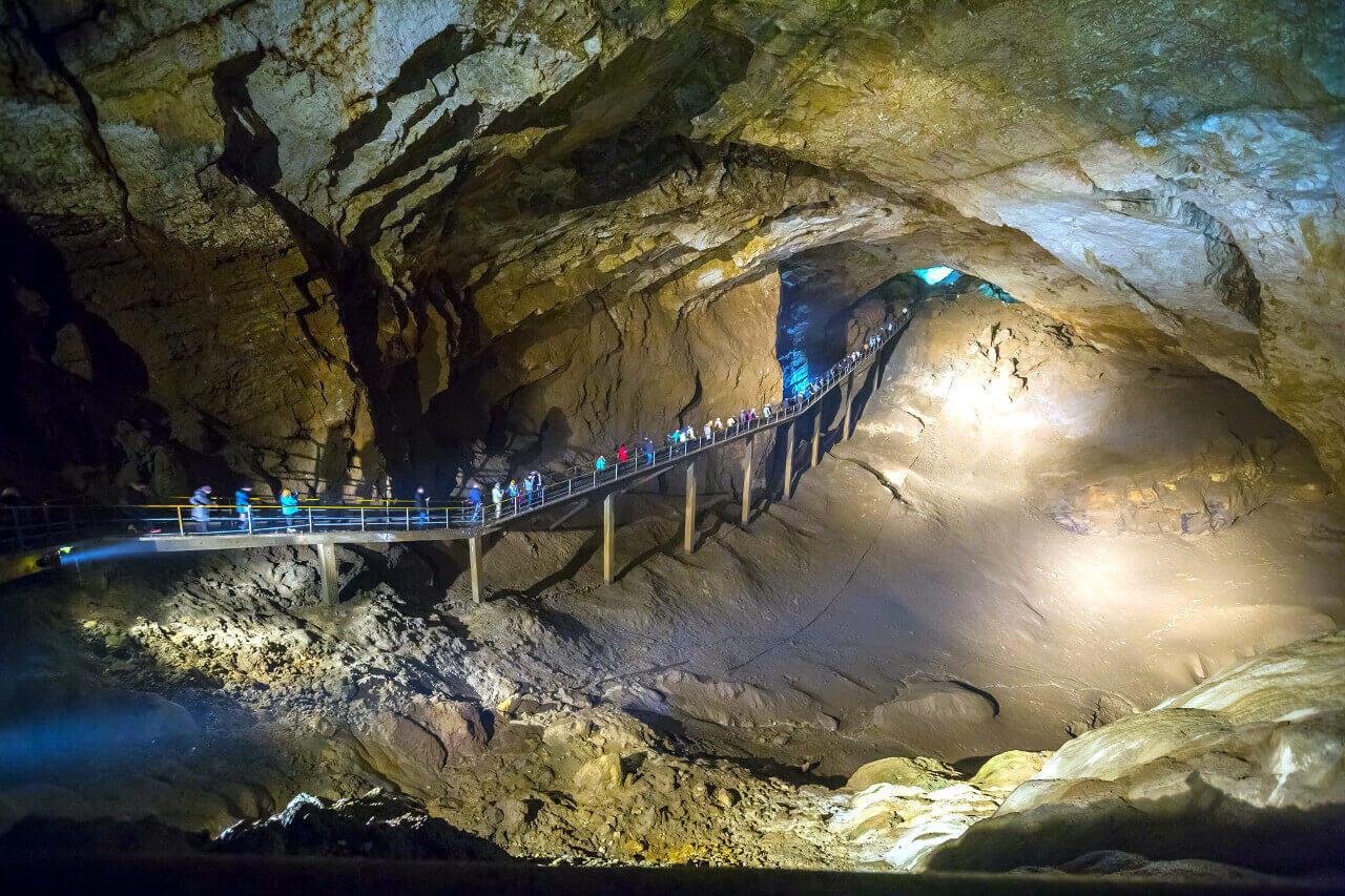 Новоафонская пещера, Абхазия